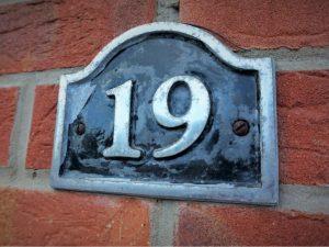 nadanie numeru domu