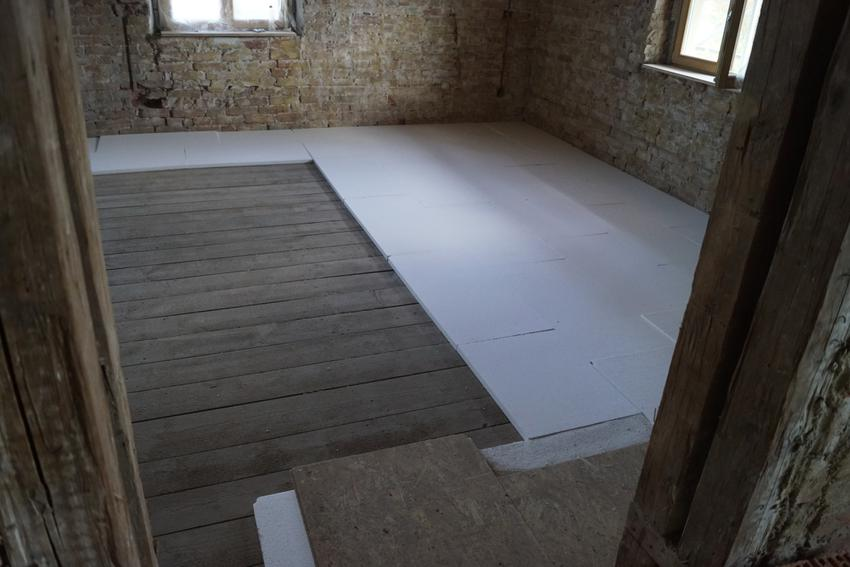 styropian na podłogi